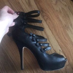 Bebe strapping heels